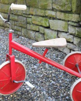 Dreirad alt Deko