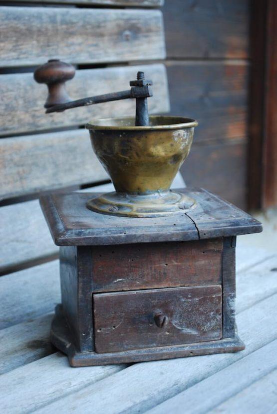 Kaffeemühle antik Deko
