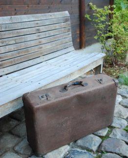 Koffer antik Deko