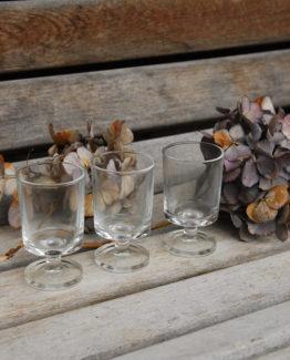Glas Schnaps Deko