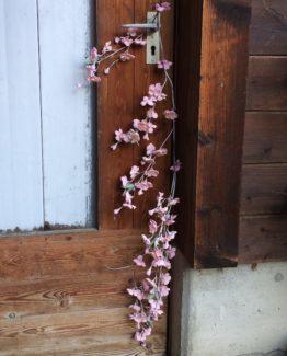 Stoffblüten Ast Deko